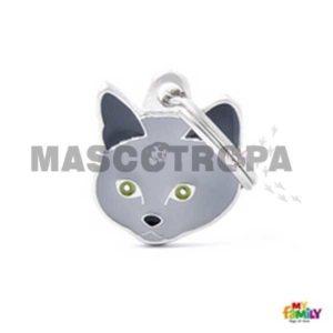 Placa Identificativa Gato Chartreux