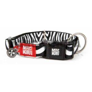 Collar Max & Molly de neopreno Cebra