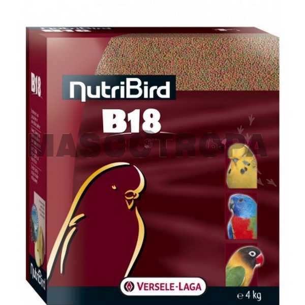Alimento para Cotorras y Periquitos NutriBird B18 Cría y Muda