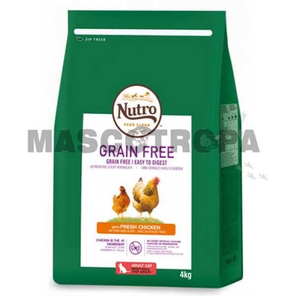 Nutro Grain Free de pollo gato adulto