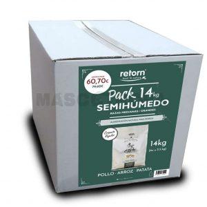 Retorn Feeling Semihúmedo Pack Cordero Croqueta Regular 14kg
