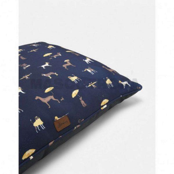 Rosewood Colchoneta Joules Azul Dog Print